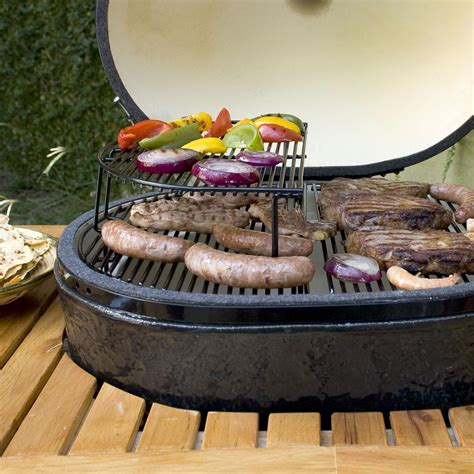 Circular Grill Rack by Primo Extended Cooking Rack For Oval Xl And Large Kamado Ultimate Patio