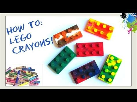how to do craft for make lego crayons how to recycle melt broken crayons
