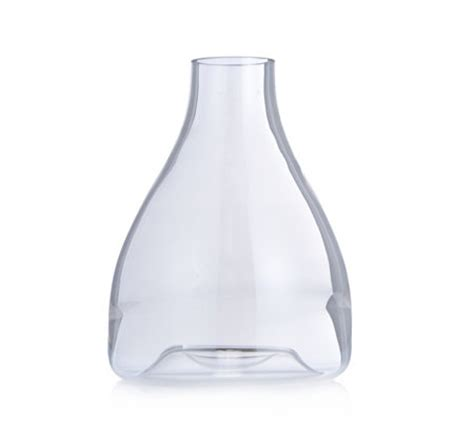Hoppen Vase by K By Hoppen Glass Vase Qvc Uk