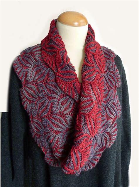 nancy marchant knitting brioche damask cowl pattern by nancy marchant stitches ravelry