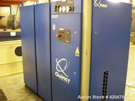 quincy compressor model qsi   hp