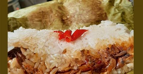 resep nasi bakar cue enak  sederhana cookpad