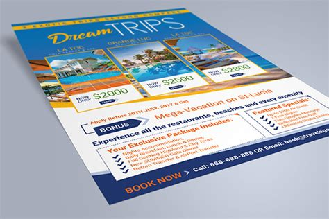 flyer design for travel agency free travel agency vacation flyer design template
