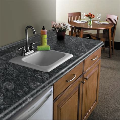 10 Foot Kitchen Countertops by Vt Dimensions Formica 10 Ft Midnight Etchings Miter