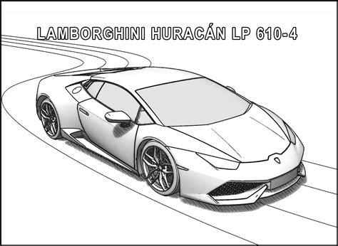 Lamborghini Pictures To Color Lamborghini Coloring Pages Coloringsuite