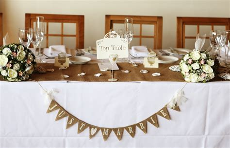 table top decoration top table wedding decor ideas pinterest top table