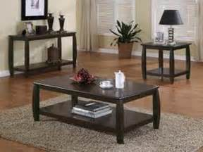 livingroom table sets black oak living room table sets your home