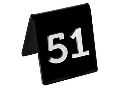 numeri per tavoli ristorante segnatavolo plexiglass con numero in rilievo