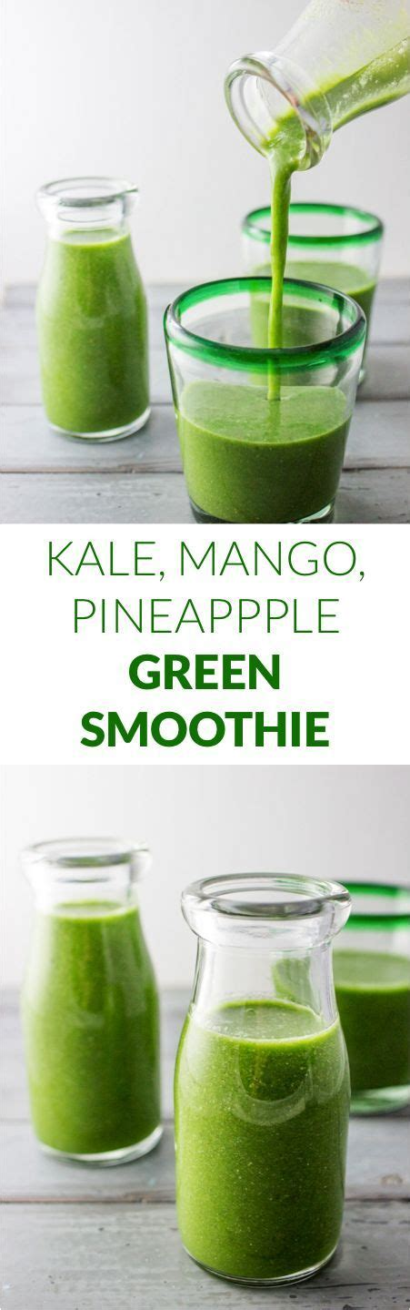 Kale Smoothie For Detox by 25 Best Kale Smoothie Recipes Ideas On Kale