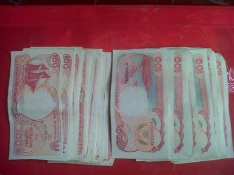 Uang Kuno Lama Rp 1000 Pattimura Th20002001 jual uang kertas lama rp 100 di lapak maju jaya motor mathews