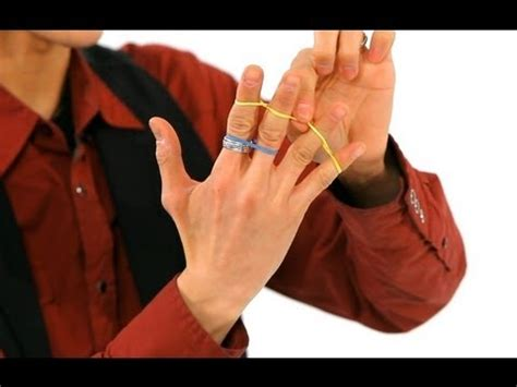 how to a tricks how to do the jumping rubber band trick magic tricks