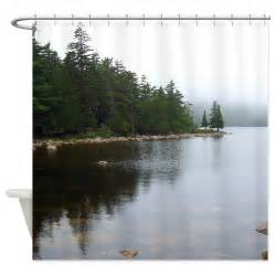 acadia wildlife shower curtain shower curtain from