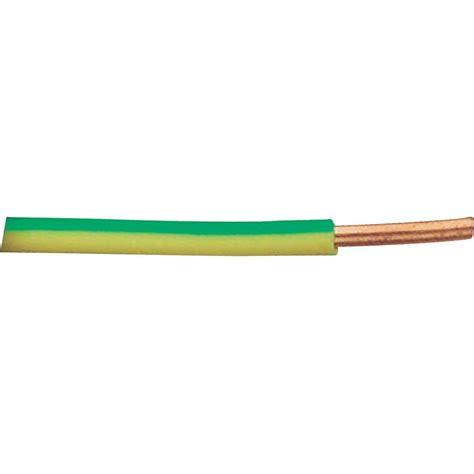 Kabel Wiring Jumper Wire H07v U 1 X 2 50 Mm 178 Green Yellow Xbk Kabel