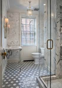 tiling a bathroom floor gray marble hex floor tile design ideas