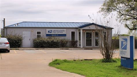 Burleson Post Office by Deanville
