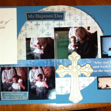 layout design for baptism 7 best christening images on pinterest scrapbook layouts