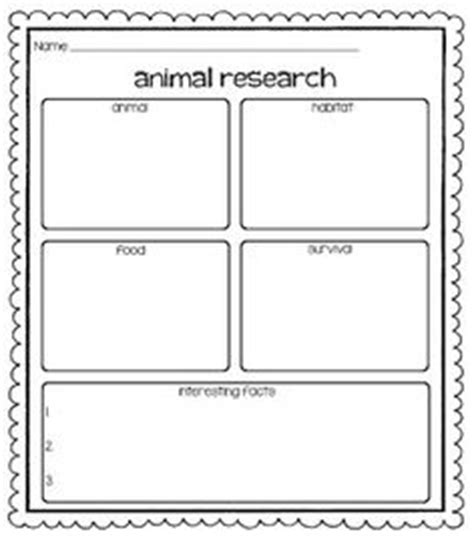 printable animal research template 1000 images about c room ideas animal research on
