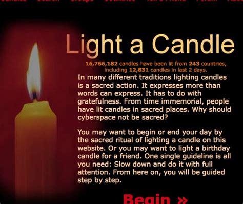 gratefulness org light a candle 16 million cyber candles for gratefulness famvin newsen