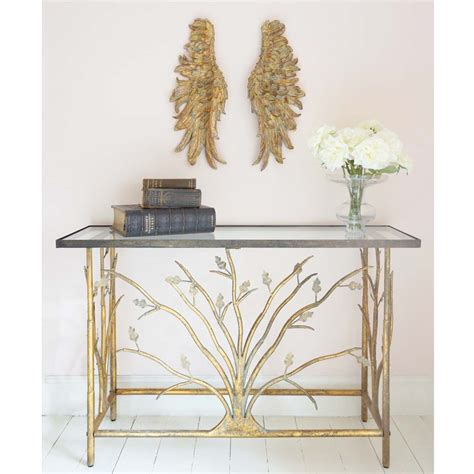 console table bedroom branching out gold console table french bedroom company