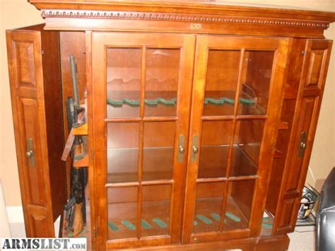 gun cabinet for sale armslist for sale gun cabinet 19 gun