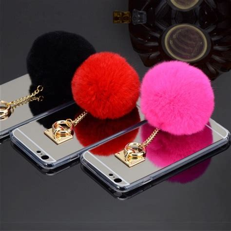 Bunny Pom Soft Pink Hardcase For Iphone 6 6s 6 6s Limited 72 trumpet jewels accessories fur iphone