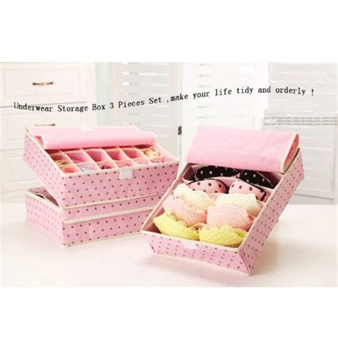 Best Quality Hpr001 Fiber Bra Box Organizer 3 In 1 Tanpa Tutu Bra Cd 5 best bra organizer secret to keeping your dresser