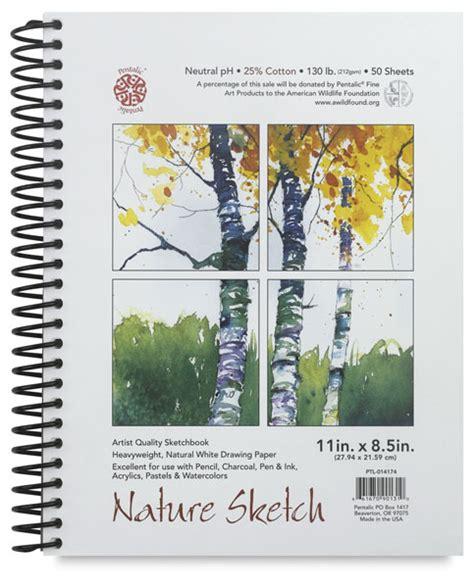 sketchbook nature pentalic nature sketch book blick materials