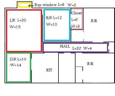 how to calculate floor plan area figure square model fukers