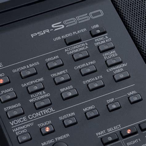 Keyboard Yamaha S950 Baru disc yamaha psr s950 keyboard workstation at gear4music ie