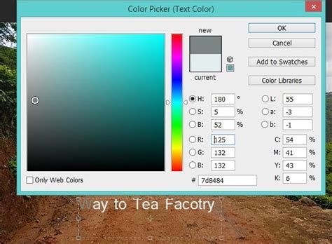 how to change color of text in photoshop how to change the color of text in photoshop