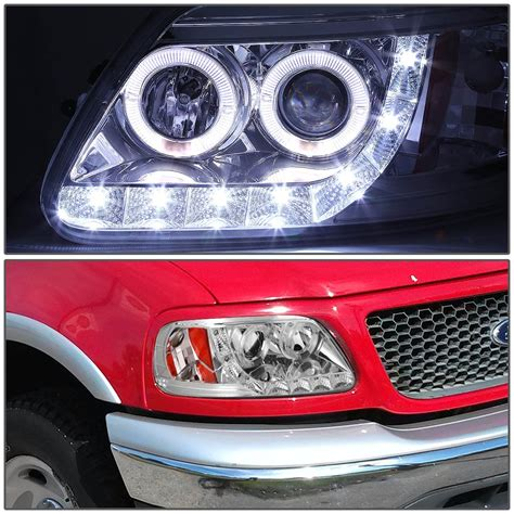 97 03 ford f150 expedition eye led projector