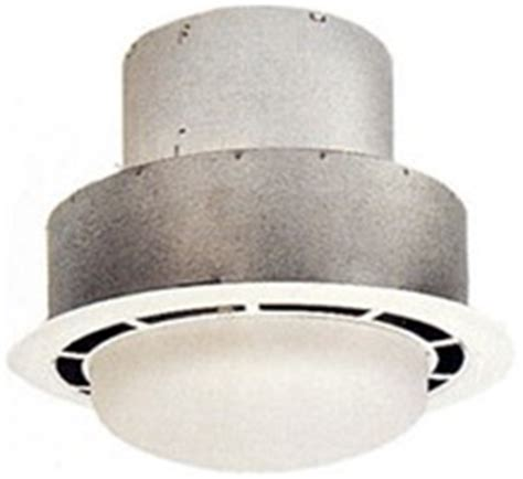 ventline 50 cfm bathroom ceiling exhaust fan with light
