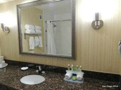 bathroom mirrors san diego bathroom mirror picture of holiday inn express sea