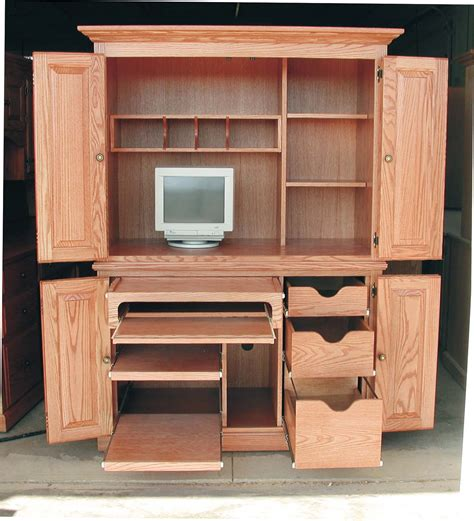 corner computer desk armoire apple creek furniture