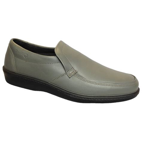grey slip on shoes padders mens digger grey slip on shoe at marshall shoes