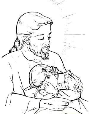 imagenes de jesus para dibujar dibujos del sagrado corazon de jesus para colorear 300x384