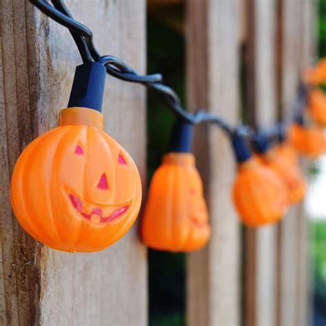 halloween pumpkin string lights halloween novelty light strand 20 mini pumpkins