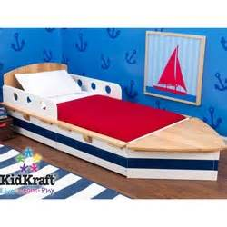 Toddler Boat Bed Walmart Boat Toddler Bed By Kidkraft