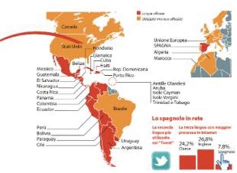 bilingue spagnolo la sorpresa 1546427538 habla espa 241 ol lo spagnolo ha superato per utilizzo l inglese e l arabo cronache