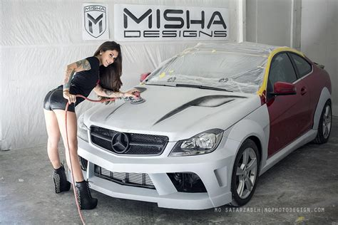 Bodykit Mercy W204 C Class Amg C63 Asli Plastik Taiwan misha designs new mercedes c class wide kit