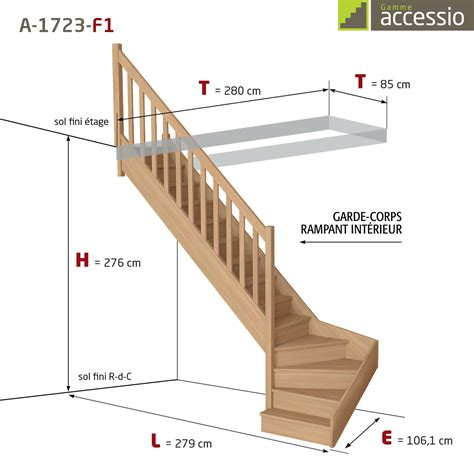Comment Calculer Un Escalier Quart Tournant 4050 by Quart Tournant Bas A 1723 Escaliers Flin