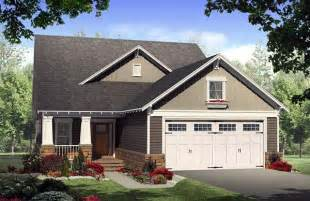 Bungalow Craftsman House Plan 59168 Bungalow 2 Car Garage House Plans