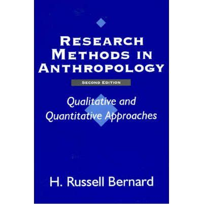 Cultural Antropology Fifith Edition research method in anthropology