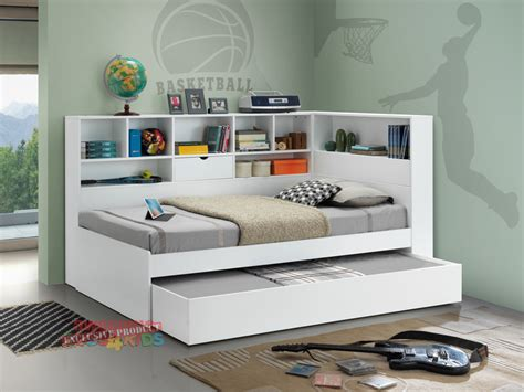 bookcase bed with trundle impressive trundle bed with bookcase br 3493290p ivyleague
