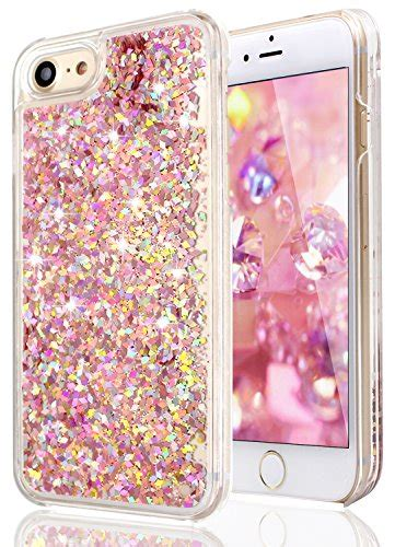 Hardcase Glitter Iphone 77 iphone 6 cases iphone 6s glitter luolnh flowing liquid floating bling glitter transparent