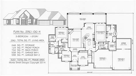 3 car tandem garage house plans 3 car tandem garage house plans home mansion