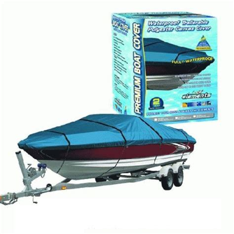how to waterproof boat canvas canvas waterproof boat cover 5 2m to 5 8m or 17 to 19ft