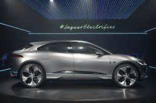 Jaguar Suv Concept Jaguar I Pace New Footage Shows Electric Suv In