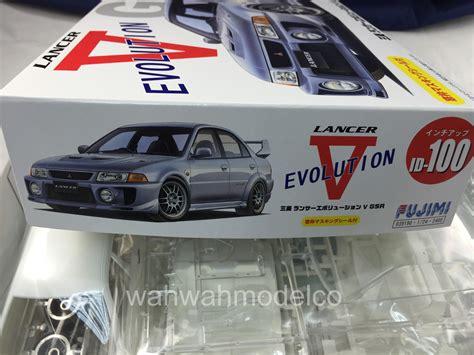 Fujimi 124 Lancer Evolution V Gsr fujimi 039190 124 id 100 mitsubishi lancer evolution v gsr