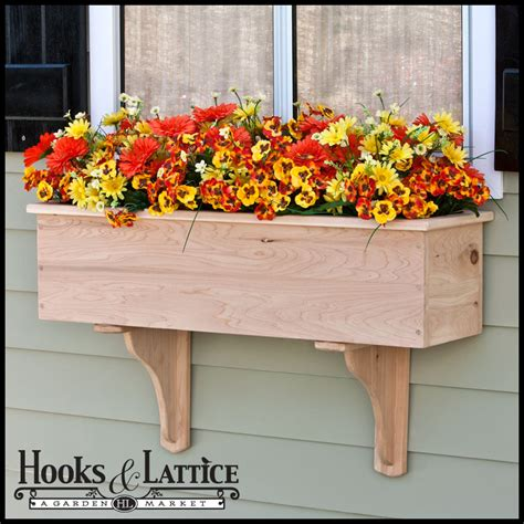 Cedar Wood Planter Boxes by Traditional Cedar Wood Planter Box Fades To Wondrous Wood